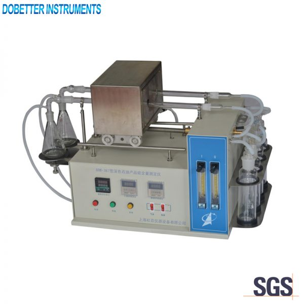 SDB-387 Sulfur Content Tester(Quartz-tube Method)