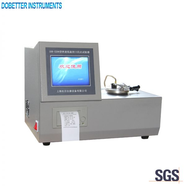 SDB-5208 Rapid Equilibrium Closed Cup Flash Point Tester